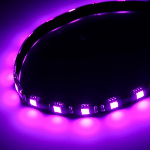 "BitFenix BFA-MAG-60PK30 Alchemy 2.0 Magnetic LED Strip (Purple, 23.6"")"
