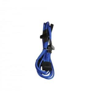 BitFenix BFA-MSC-M3MBKK Blue Alchemy Multisleeved(12) Cable - 60cm - 1x Molex to 3x Molex