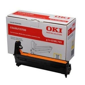 OKI 43381705 Image Drum Yellow Laser Printer