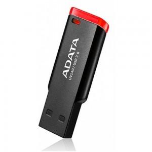 Adata ADFD3UV140364GBBK Ultra-Light USB 3.0 64GB Flash Drive - Black and Red