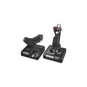 Logitech 945-000003 X52 Professional H.O.T.A.S. - Joystick And Throttle - Wired