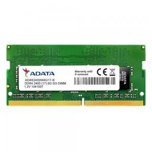 ADATA AD-DDR4S-2400-8GB 8GB DDR4 2400MHZ SO-DIMM Notebook Memory Module