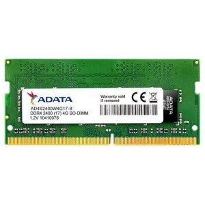 Adata AD-DDR4S-2400-4GB 4GB DDR4 2400MHZ SO-DIMM 260 pin Notebook Memory
