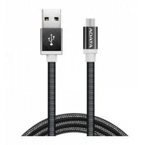 Adata AD-MICROUSBCBK  Micro USB 100 cm Reversible Black Cable