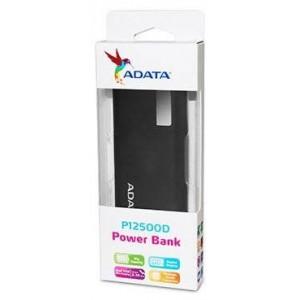 Adata AD-PBP12500DBK-12500MAH 12500mAh Black Powerbank