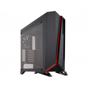 Corsair CC-9011121 Carbide Series SPEC-OMEGA Mid-Tower Tempered Glass Gaming Case, Black