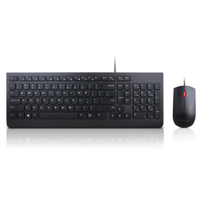 Lenovo  4X30L79883    Essential Wired Combo Keyboard And Mouse Set - English - US