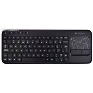 "Logitech LT-2K400 WK Wireless Keyboard With Built-in 3.5"" Touch Pad"