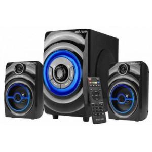 Astrum A13029-B  SM290 2.1CH 12W Multimedia Speaker USB+ SD+ FM Radio
