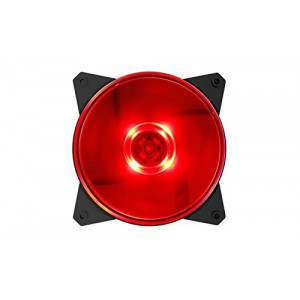 CoolerMaster R4-C1DS-12FR-R1 MasterFan Lite MF120L Red LED 120mm Fan