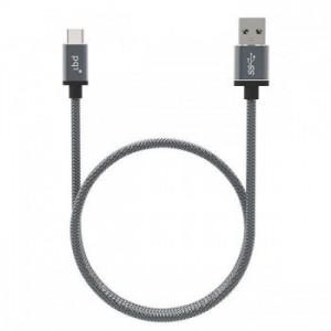PQI PQICABLE-C2A USB 3.1 Type-C To Type-A 100cm Adapter - Metallic