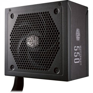 CoolerMaster MPX-5501-AMAAB MasterWatt 550 550W 80 Plus Bronze Semi-Modular Power Supply