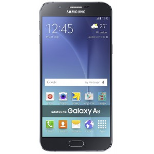 Samsung GALAXY A8 BLACK Smart Phone