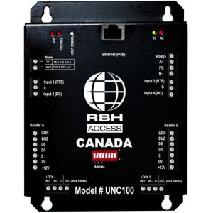 RBH RBH-INT-UNC100-122S-360N Hardware (64-Door Software Included with KIT) Universal Network Controller