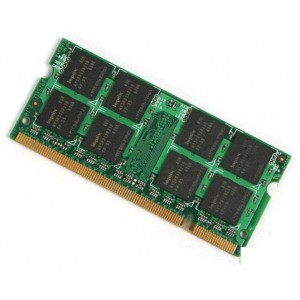 Unbranded MOBMEM1GB  1GB DDR2-667 200 pin Notebook Memory