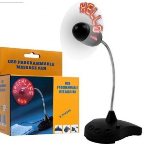 Unbranded LED003 Programmable USB LED Fan