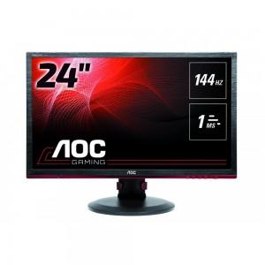 "AOC-G2460PF FreeSync, FHD (1920x1080), TN Panel, 144Hz, 1ms, Height Adjustable, DisplayPort, HDMI, USB 24"" Gaming Monitor"