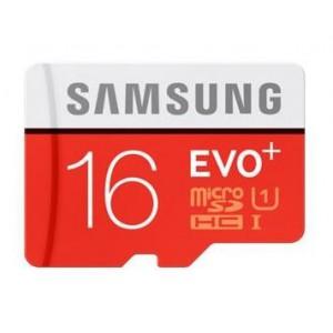 SAMSUNG MB-MC16DA 16GB Evo+ Micro SD Class 10 +Adaptor