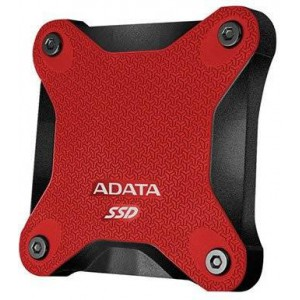 Adata AD-SSDEXTSD6001-256GBRD  SD600 Series 256 GB Black and Red External 3DNAND/TLC Solid State Drive