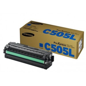 SAMSUNG HP S-Print Samsung CLT-C505L Cyan Laser Toner Cartridge