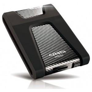 """ADATA AD-HD6502-1TBBK  HD650 Series 1TB Black USB 3.0 2.5"""" External Hard Drive"""