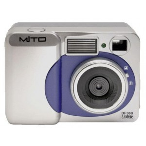 MITO 3.1MCAM 3 MP Digital Camera With 4x Digital Zoom