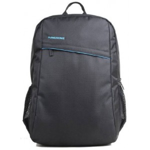 "Kingsons KF0047WBK Spartan Series Black 15.6"" Laptop Backpack"