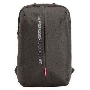 "Kingsons KS3123WBK Pulse Series Black 15.6"" Laptop Backpack"