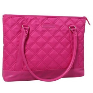 "Kingsons K8994WPK Vogue Series Pink 15.6"" Ladies Bag"