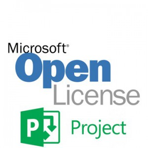 Microsoft Project All Languages Licsapk Olv C 1-Year AP - Medialess