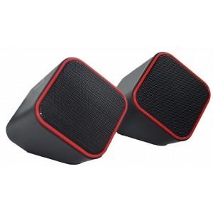 Volkano VB702RED  Diamond Series Red USB Powered Speaker