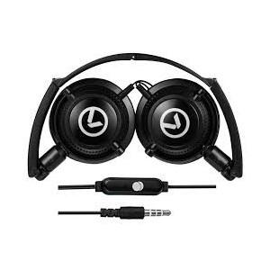 Amplify AM2005BK Symphony Foldable Stereo Headphones