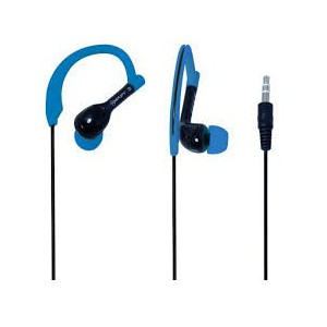 Amplify AM1301BKB Sprinters Sports Hook Earphones