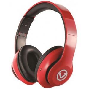 Volkano VBVH101RD  Impulse Series Red Bluetooth Headphone