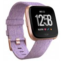 Fitbit Versa Smartwatch - Lavender Woven Rose Gold (with Small and Large Bands)