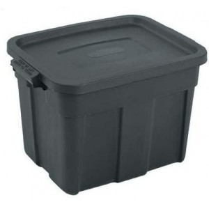 Addis AD88310BK Roughtote 45L Storage Box