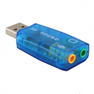 5.1 Channel USB Sound Card
