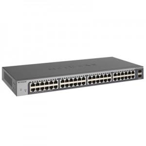Netgear GS750E-100EUS  ProSafe 48-Port Smart Plus Gigabit Switch w/ 2x 1G SFP Ports