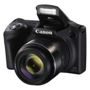 Canon SX430  PowerShot  IS Point and Shoot Camera  (Black 20 MP)