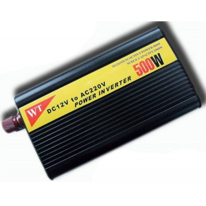 500W Inverter + Built-in 8A Battery Charger
