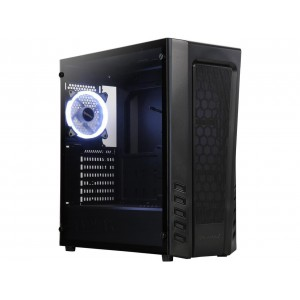 Raidmax ZETA B04 Zeta Black Steel / Plastic / Tempered Glass ATX Mid Tower Computer Case