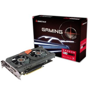 Biostar AMD Radeon RX570 4GB DDR5 256bit PCIe 3.0 x16 Graphics Card