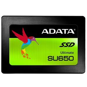 "Adata AD-SSDSU6501-120GB Ultimate SU650 120GB 2.5"" SATA3(6Gbps) Solid State Drive"