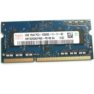 Hynix HMT325S6CFR8C-PB 2GB DDR3-1600 1.5V SO-DIMM 204 Pin Notebook Memory