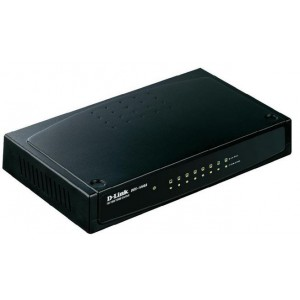 D-Link DGS-1008D 8-Port Gigabit Unmanaged Switch