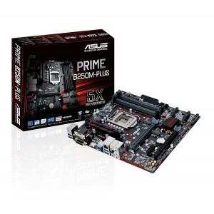 Asus PRIME B250M-PLU LGA1151 DDR4 HDMI DVI VGA M.2 USB 3.1 B250 mATX Motherboard