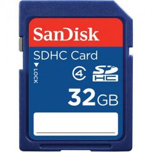 SanDisk SDSDB-032G-B35  32GB SDHC Memory Card Class 4