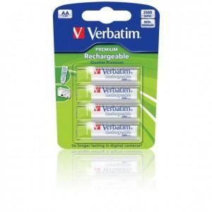 Verbatim 49941 Premium Battery - AA - NiMH x 4