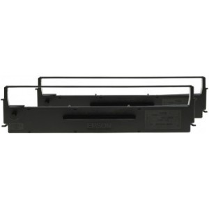 Epson C13S015647BA Black Ribbon Cartridge