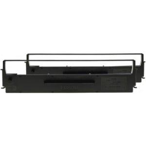 Epson C13S015647BA  Black Ribbon Cartridge